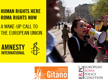The FSG joins Amnesty International in Brussels to urge the EU to end discrimination towards Roma